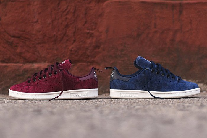 ADIDAS-STAN-SMITH-SUEDE-BURGUNDY-NAVY-1