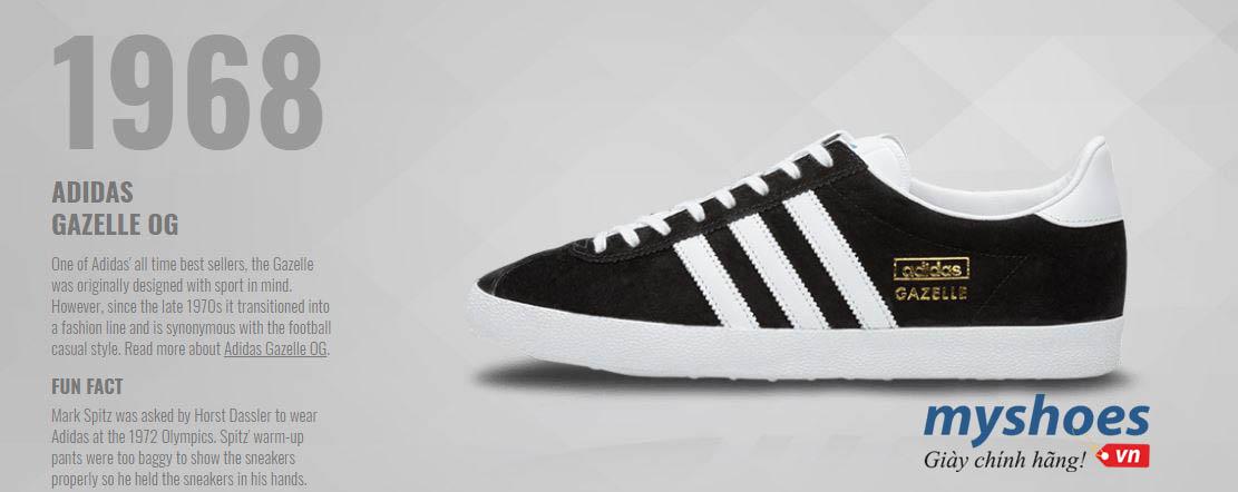Lời thì thầm từ một huyền thoại giày adidas chính hãng - adidas Gazelle