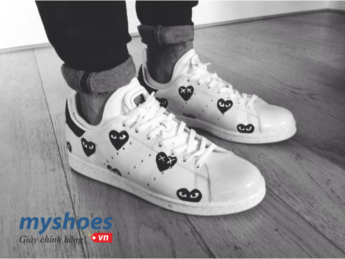Tự tạo ra phiên bản giày adidas Stan Smith cho riêng mình