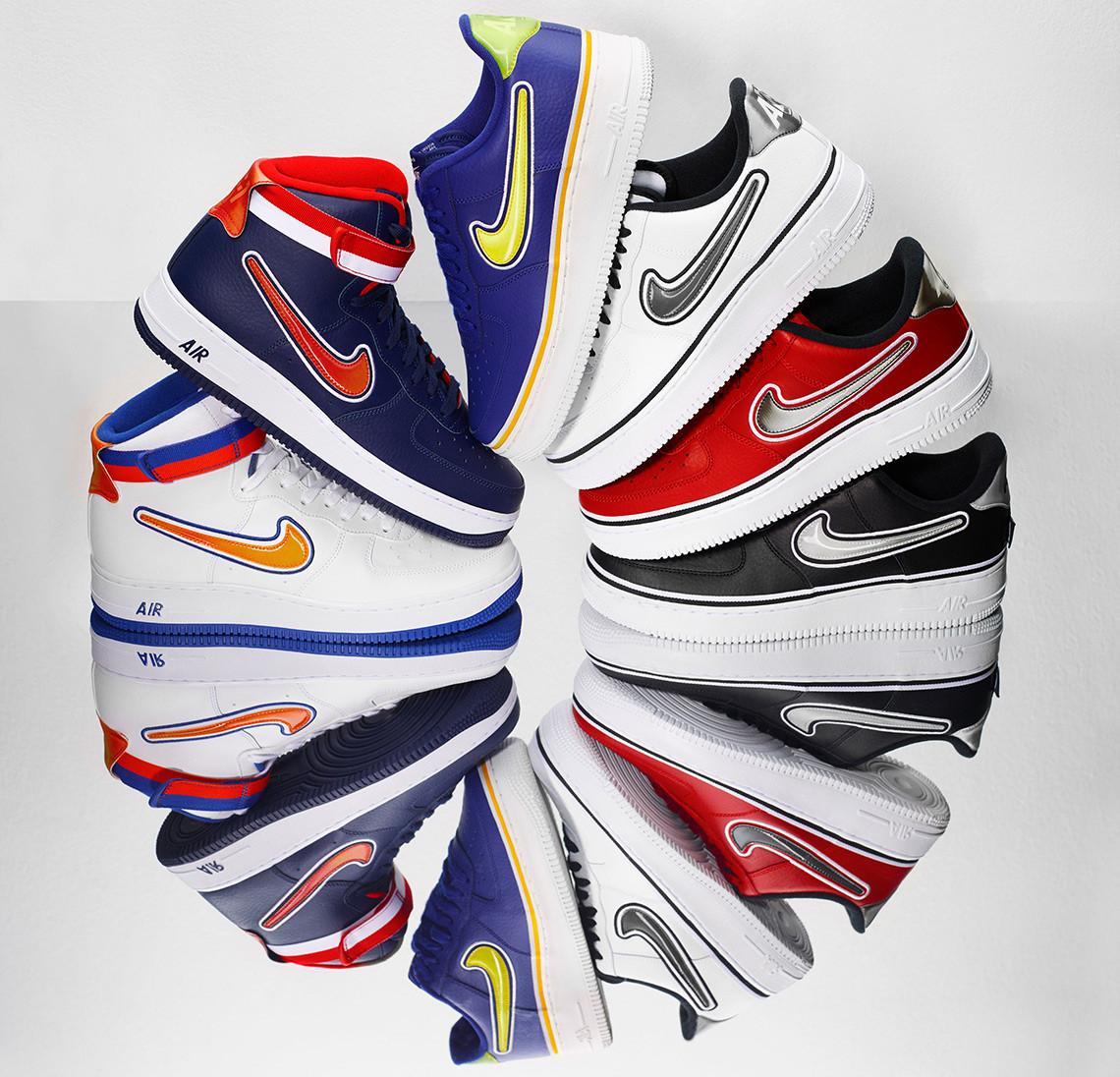 Hình ảnh cực mới lạ của giày Nike Air Force 1 trong bộ sưu tập cho mùa lễ 2018