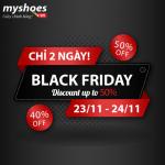 Mua giày thả ga, tha hồ phê pha trong mùa Black Friday 2018 tại Myshoes!!
