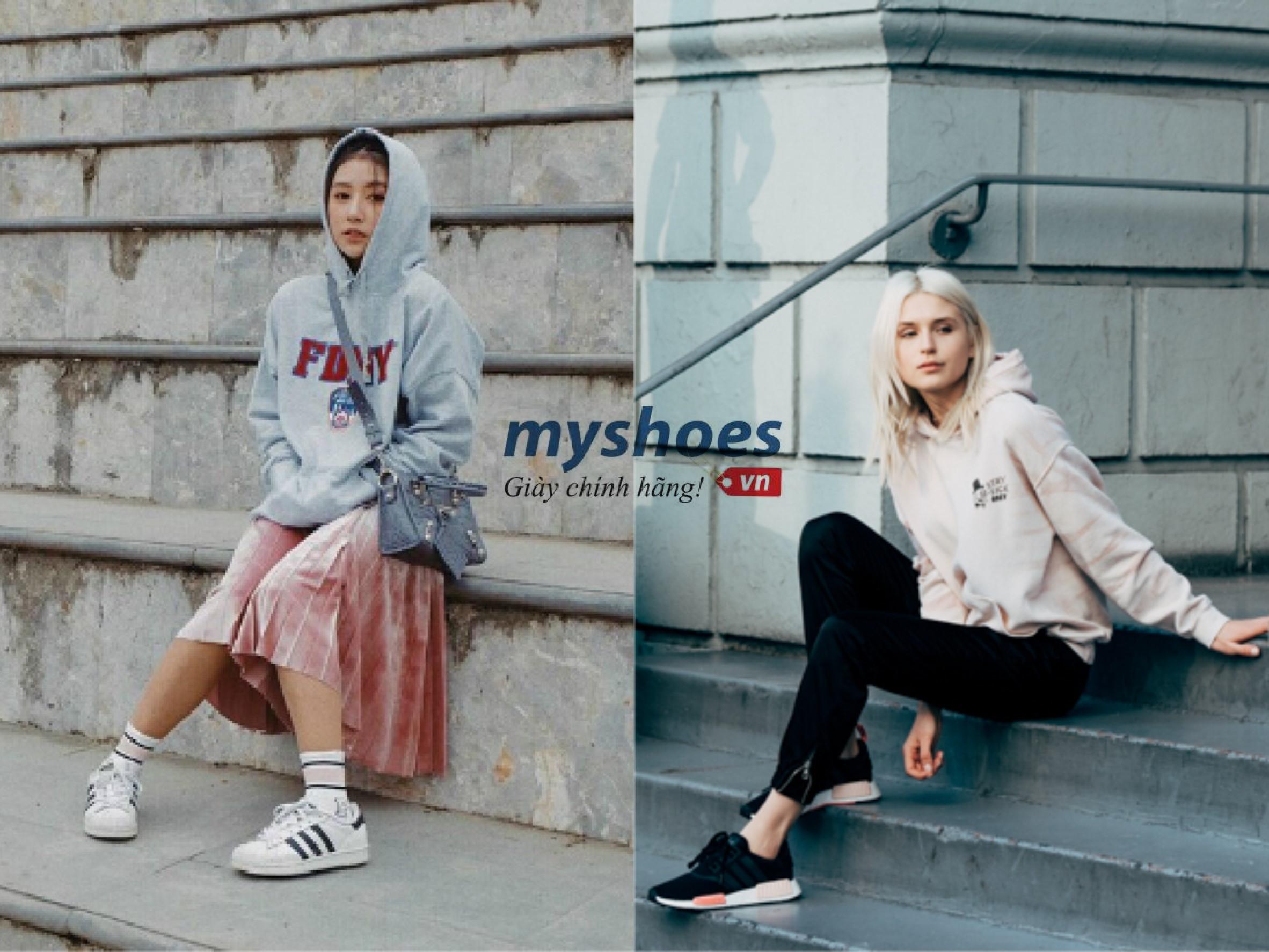 Biến hóa cùng giày adidas trong phong cách của sao