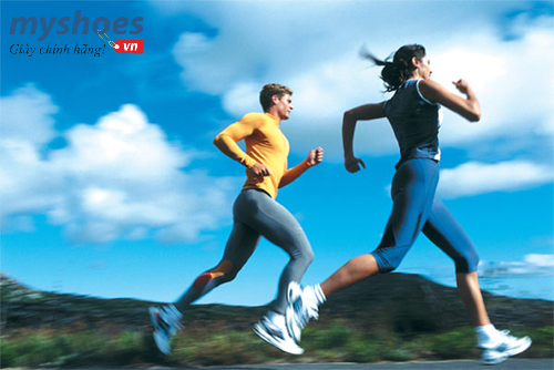 Sức hấp dẫn đến từ cô nàng yêu chạy bộ
